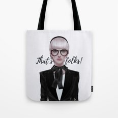 That's__folks! Tote Bag