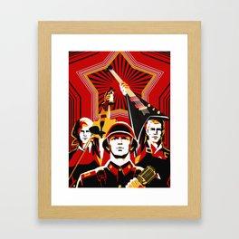 Art print: Propaganda Musik Framed Art Print
