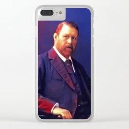 Bram Stoker, Literary Legend Clear iPhone Case