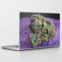 medical Laptop & iPad Skins featuring Jenny's Kush Medical Weed by BudProducts.us