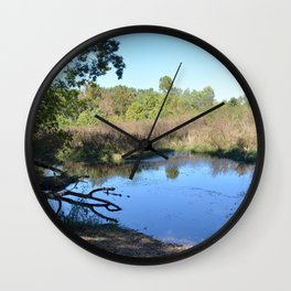 Where Canoes and Raccoons Go Series, No. 34 Wall Clock