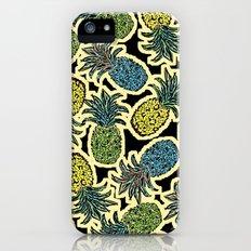 Pineapple Pandemonium - Retro Tones Slim Case iPhone (5, 5s)