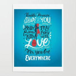 The Shape of You Poster
