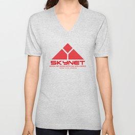 Skynet Unisex V-Neck