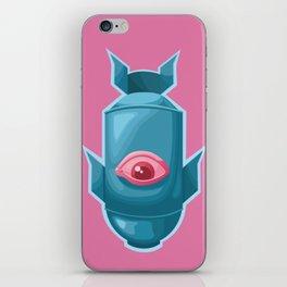 Blue Bomb iPhone Skin