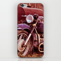 moto iPhone & iPod Skins featuring Vintage Moto by Eduard Leasa Photography