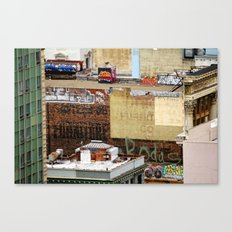 San Francisco behind the scene Canvas Print