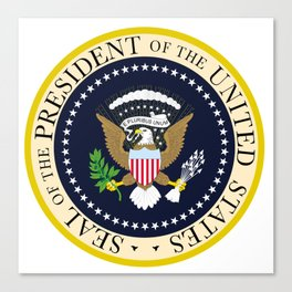 US Presidential Seal Canvas Print