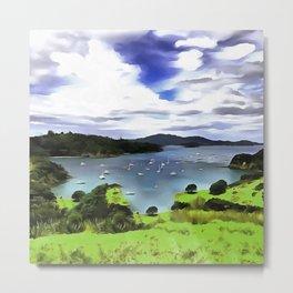 Moturoa Island Metal Print