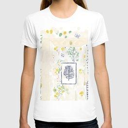 Lemon floral T-shirt
