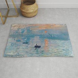 Claude Monet - Impression Sunrise Rug