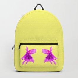 Purple Fish Backpack