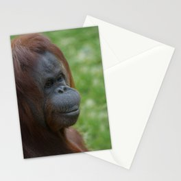 Orangutan Mother Portrait Stationery Cards