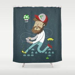 Hipster nº5: Freak Shower Curtain