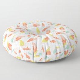 tribal feather print Floor Pillow