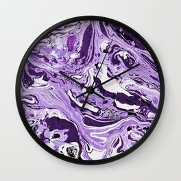 Marble texture 7 Wall Clock