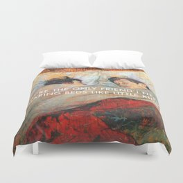 Sharing Beds Duvet Cover
