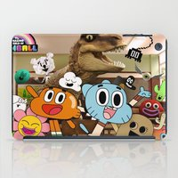 gumball iPad Cases featuring GUMBALL by rosita