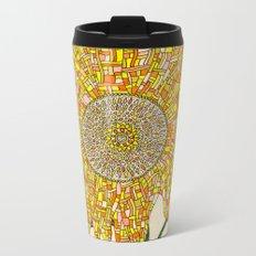 Georgia Sunflower Metal Travel Mug