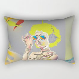 Abstractionist – Revolution Rectangular Pillow