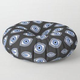 Greek Blue Eye Floor Pillow