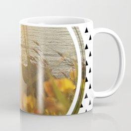 Golden Sunset - small triangle graphic Coffee Mug