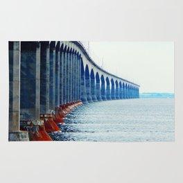 Confederation Bridge New-Brunswick Rug