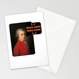 Bona Notte Dear Lotte Mozart Stationery Cards