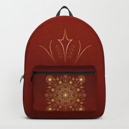 Clockwork Compass in Red Backpack