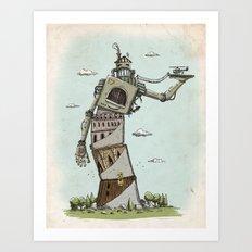 Crooked Art Print