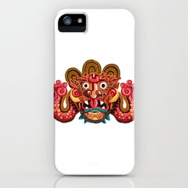 Necklace of Skulls -Mayan iPhone Case