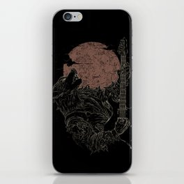 The Rock Werewolf iPhone Skin