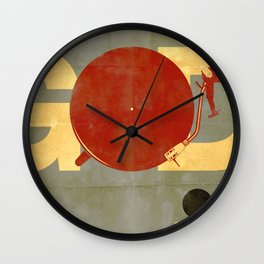 Crank it up! Wall Clock