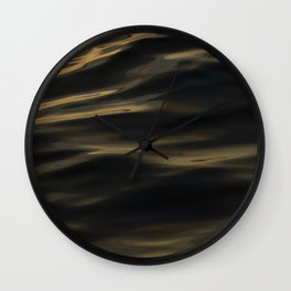 Painted by the Sea III Wall Clock