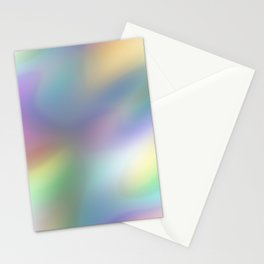 Iridescent Soap Bubble Stationery Cards