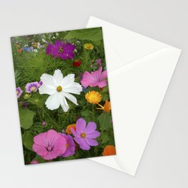 flower garden II Stationery Cards