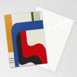TAKE ME OUT (abstract geometric) Stationery Cards