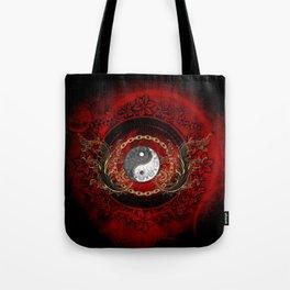 The sign ying and yang Tote Bag