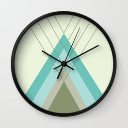 Iglu Oliva Retro Wall Clock