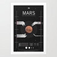 OMG SPACE: Mars 1990 - 2030 Art Print