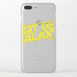 Best Dad In The Gal Clear iPhone Case