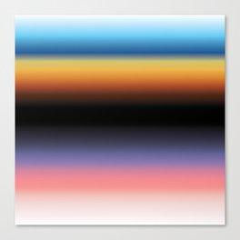 The Skys Colour Canvas Print