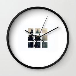 Foggy Wall Clock