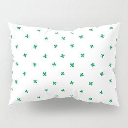 St Patricks Clove Pattern Pillow Sham