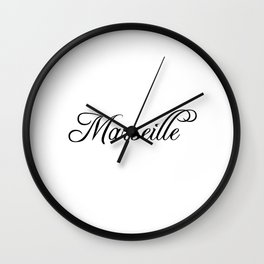 Marseille Wall Clock