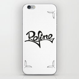 refine iPhone Skin