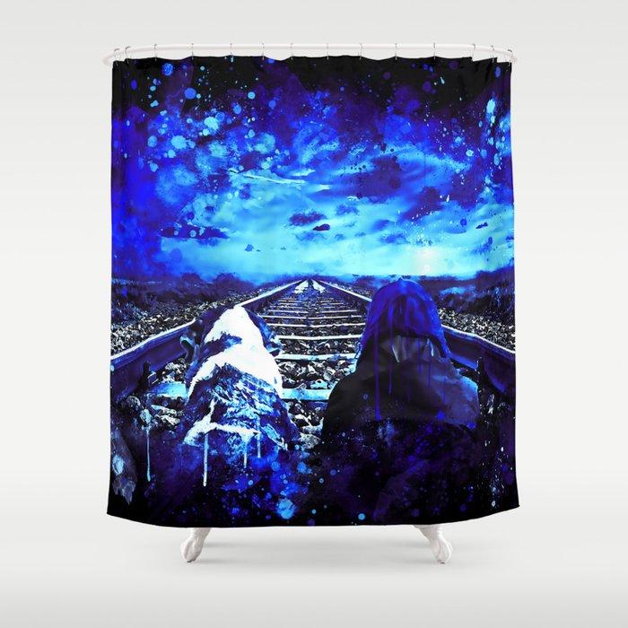 wanderlust wsbt Shower Curtain