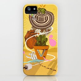 DESERT VISIONS iPhone Case