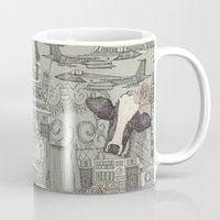et Mugs featuring Dolly et al by Sharon Turner