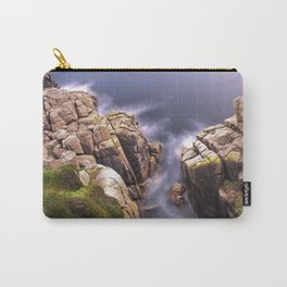 View From The Minack Theatre, Porthcurno, Cornwall, England, United Kingdom Carry-All Pouch